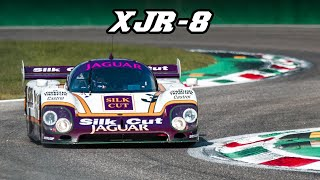 Most of the clips are with xjr-8.car nr. 66 is an xjr-9 from 1988.1987 jaguar xjr-8-------------------------------engine: 60° v12 na / 6995 cc 426.9...