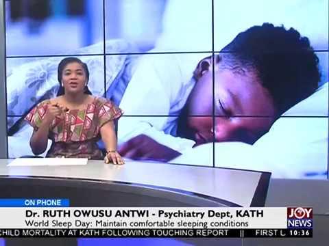 World Sleep Day - News Desk on Joy News (17-3-17)