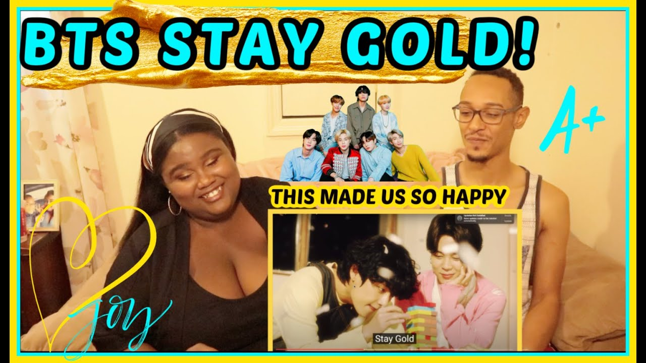 BTS (방탄소년단) 'Stay Gold' Official MV Couple reaction!! 💛💗💛🔥😇 AM SO HAPPY RIGHT NOW!🔥💛🔥