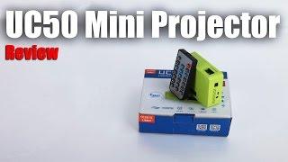 uC50 Mini Portable Projector : Quick Review
