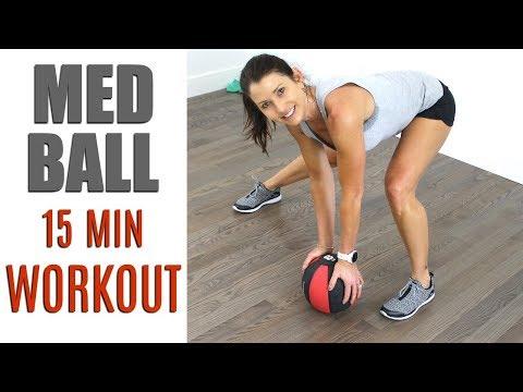 15 MINUTE MEDICINE BALL WORKOUT