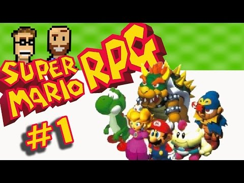 Super Mario RPG released on the Wii U virtual console! Let's Play! The Basement (Part 1 / Ep 1)