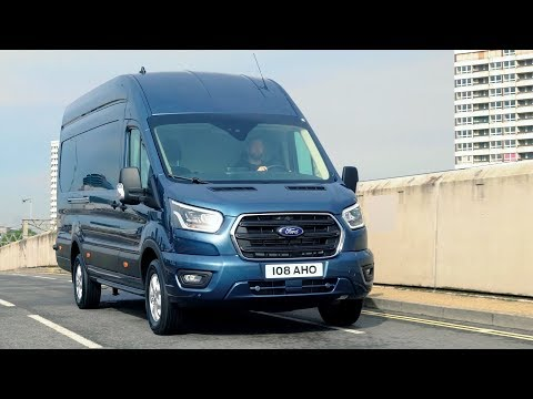 Ford Transit | Stratosphere Blue | Driving, Exterior, Interior
