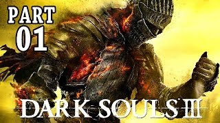 Dark Souls 3 Gameplay German PS4 Part 1 - 1 Boss, mein Charakter - Let