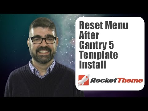 Resetting Your Live Joomla Site After A Gantry 5 Rockettheme Template Install Takes Over