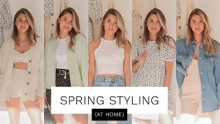 SPRING STYLING - AT HOME OUTFITS | Fashion Influx