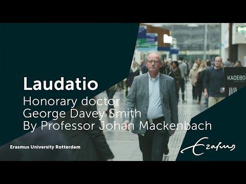 Laudatio honorary doctor George Davey Smith by professor Johan Mackenbach