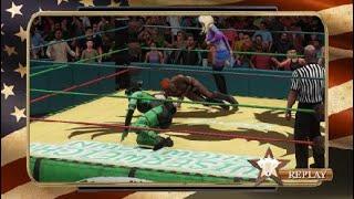 Fatal 4 Way Impromptu Match