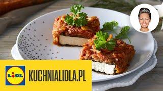 WEGAŃSKA RYBA PO GRECKU  | Kinga Paruzel & Kuchnia Lidla