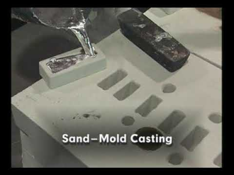 Amazing Cast Aluminum Process Using Sand Mold, Fast Melting Metal Casting Technology Working