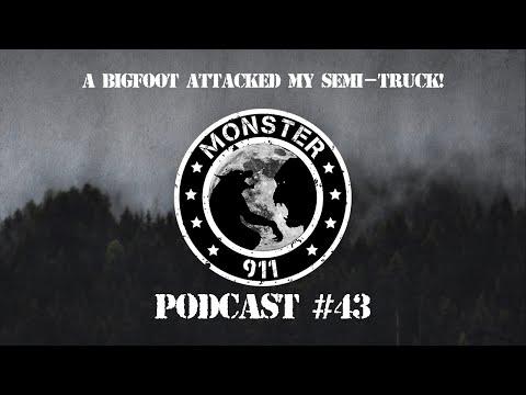 """A BIGFOOT Attacked My Semi-Truck!"", Episode #43,--Dogman Sasquatch Oklahoma Encounter3"