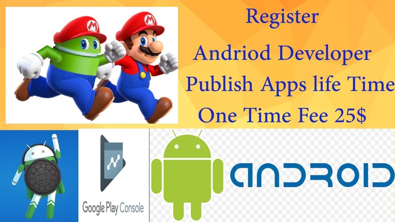 How To Publish Andriod App on Google Play Store Google Play Console( One  Time Fee 25$)