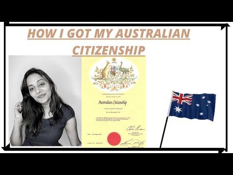 How I got my Australian Citizenship? 2020 Citizenship Test & Process