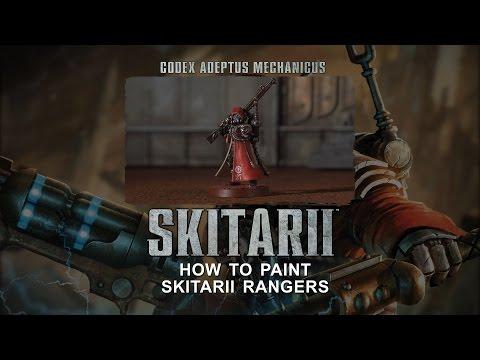 Adeptus Mechanicus: How to paint Skitarii Rangers.