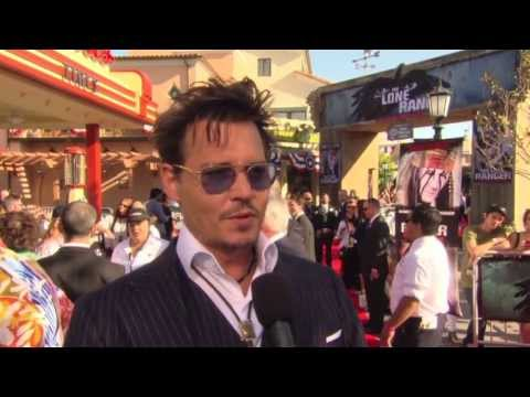 Johnny Depp and Armie Hammer- World Premiere of The Lone Ranger