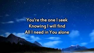 Chris Tomlin - I Will Follow - Instrumental with lyrics