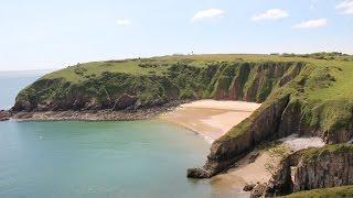 Pembrokeshire Coast Pt 4: Wild camping at Skrinkle Bay