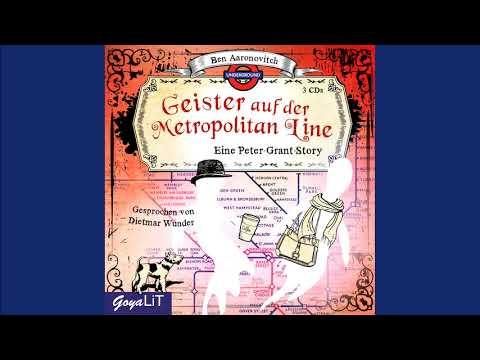 Geister auf der Metropolitan Line (Peter Grant 7) YouTube Hörbuch Trailer auf Deutsch
