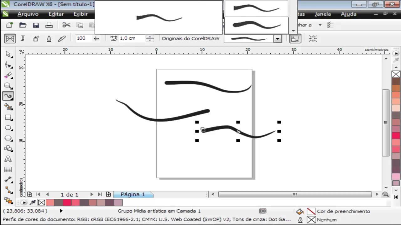 Curso de coreldraw x6 aula 08 ferramentas de linhas youtube curso de coreldraw x6 aula 08 ferramentas de linhas ccuart Images