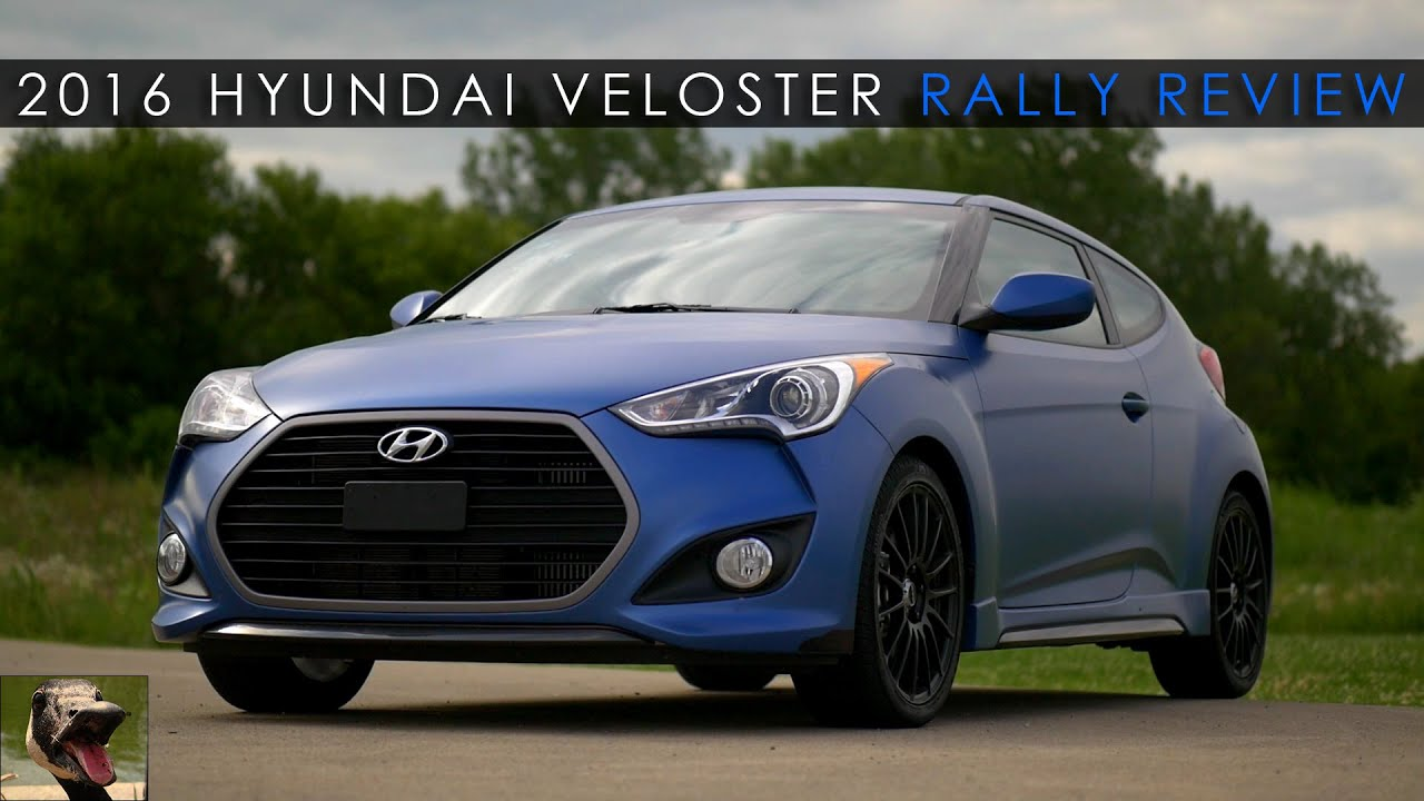 Review | 2016 Hyundai Veloster Rally Turbo | The Underdog - YouTube