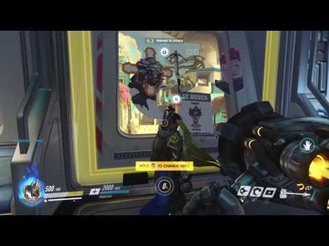Overwatch Reinhardt Team Kill