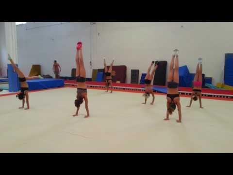 Gara VERTICALI ginnastica artistica csb