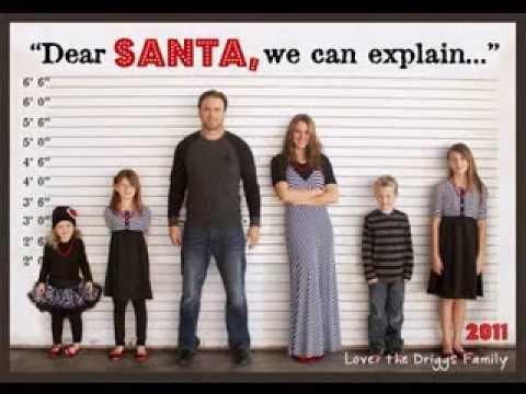DIY Christmas card photo ideas kids