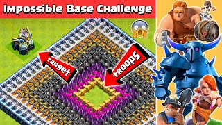 Impossible Base Challenge #2 | Clash of Clans