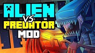 Repeat youtube video Minecraft | ALIEN VS PREDATOR MOD Showcase! (FUTURISTIC, ALIENS, MARINES, NUKES)