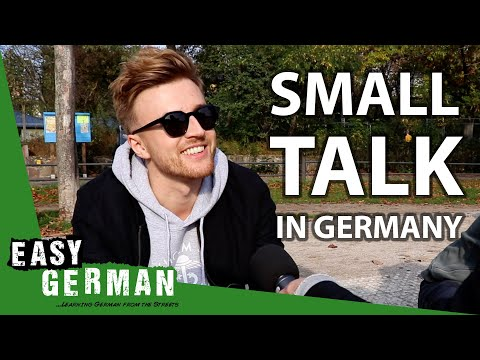 How to make small talk in Germany | Easy German 320