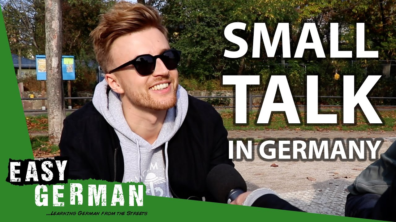 Download How to make small talk in Germany | Easy German 320