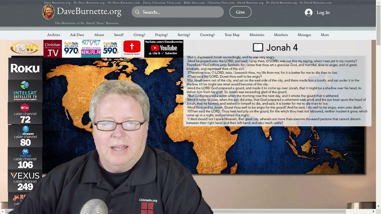 Jonah 4 ✒️ A Loving Father