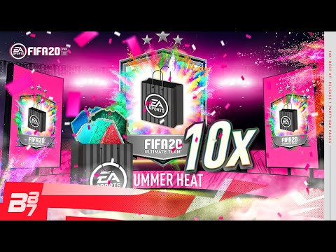 10 X BEST OF PARTY BAG 1 GUARANTEED PACKS! | FIFA 20 ULTIMATE TEAM