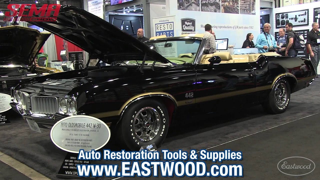 Perfect 1970 Olds 442 W-30 Convertible - Original Parts Group Booth ...