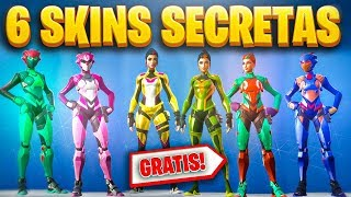 HOW TO GET THE 6 NEW *SECRET SKINS* - LOCATION 5 HIDDEN HOUSES UNIQUENESS - FORTNITE
