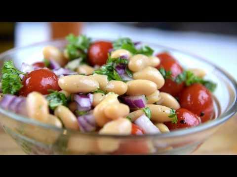 Tomato White Bean Salad video