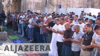 Clashes erupt over Israel security measures in al-Aqsa