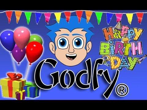 Godfy Feliz Cumpleaños - Musica para Fiestas Infantiles Cristianas