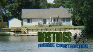 Hastings Marine Construction 35 Years