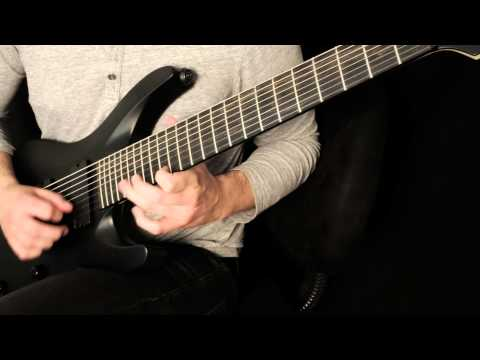 """Pyrithion """"The Invention of Hatred"""" guitar performance demonstration"""