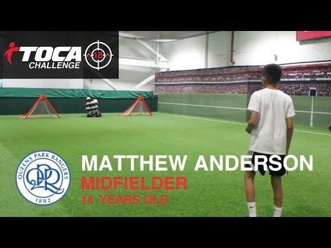 TOCA Challenge - Matthew Anderson  (QPR Academy)