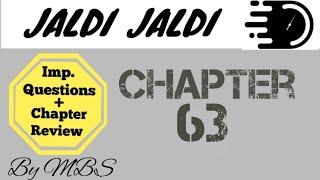 Jaldi jaldi guyton chapter 63
