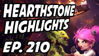 Hearthstone Daily Highlights | Ep. 210 | AmazHS, ZalaeHS, Zilea, nl_Kripp, TrumpSC, Phenodreum