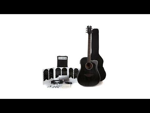 "Keith Urban ""Black Label"" Guitar Pkg AcousticElectric"