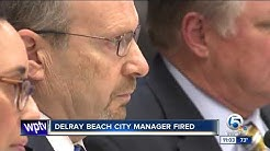 Delray Beach City Manager Mark Lauzier fired