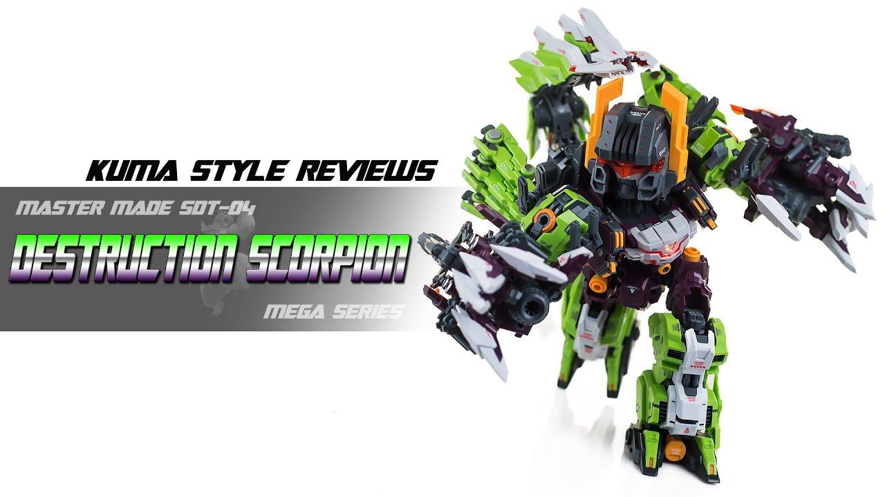 Toy Review Master Made Mega Series Sdt 04 Destruction Scorpion