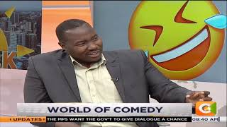 Comedian Jaymo Ule Msee talks of his journey/ joining Viusasa