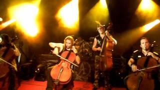 Apocalyptica - Beautiful Live @Zagreb 3/7/2011