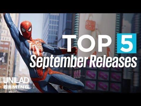 TOP 5 Games Releasing in September - UNILAD Gaming