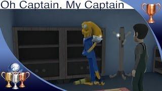 Octodad: Dadliest Catch [PS4] - Oh Captain, My Captain - Trophy Guide (Visit Crew as the Captain)